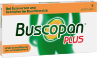 BUSCOPAN plus Suppositorien